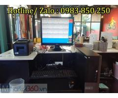 Bộ Máy Tính Tiền , Quản lý bán hàng cho quán cafe Tại Hà Tĩnh