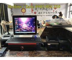 Phần mềm tính tiền cho quán ăn, Nhà hàng giá rẻ tại Bắc Giang
