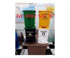 Thùng rác y tế 20 lít ,thùng rác 15 lít y tế ,thùng đựng rác