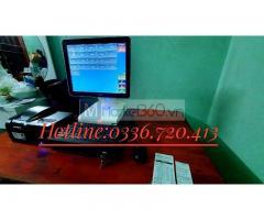 Bán máy tính tiền tại Nghệ An cho quán trà chanh