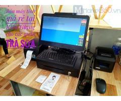 Nhận lắp đặt máy tính tiền cho quán trà sữa ở Nghệ An giá rẻ