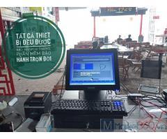 Bán máy tính tiền cho cửa hàng thức ăn nhanh ở Nghệ An