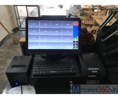 Máy tính tiền giá rẻ cho quán trà chanh tại Trà Vinh