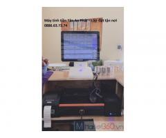 Máy tính tiền cho quán trà chanh tại Trà Vinh giá rẻ