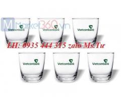 Xưởng cung cấp ly cốc thủy tinh in logo quà tặng giá rẻ ở Đà Nẵng