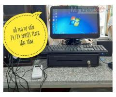 Combo phần mềm tính tiền cho tiệm Trà Đào ở hòa bình