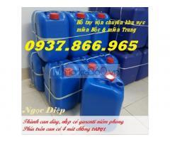 Can nhựa HDPE 10l, can nhựa dày, can nhựa an toàn thực phẩm, can đựng hóa chất dung tích 10 lít