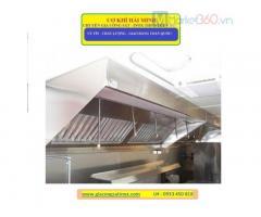 Cơ khí Hải Minh gia công thiết bị bếp ăn công nghiệp theo yêu cầu.