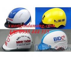 Cung cấp mũ bảo hiểm in logo công ty doanh nghiệp giá rẻ ở Đà Nẵng