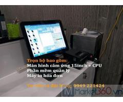 Bán máy tính tiền cho salon tóc tại Ô Môn giá rẻ