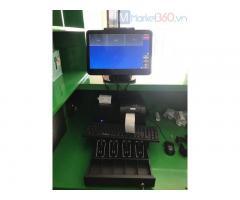 Chuyên máy tính tiền giá rẻ Phú Yên cho tiệm rau má