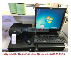 Chuyên máy tính tiền quán sữa chua trân châu giá rẻ Phú Yên