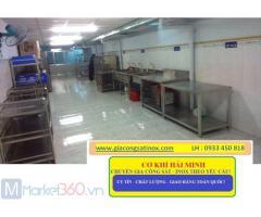 Cơ khí Hải Minh địa chỉ gia công bếp công nghiệp uy tín chất lượng