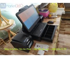 Bán máy tính tiền cho quán tàu hũ trân châu Vĩnh Phúc giá rẻ
