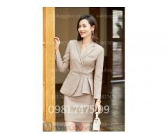 Đơn vị may áo vest nữ công sở chất lượng đẹp, chuẩn mẫu, giá rẻ tại Hà Nội