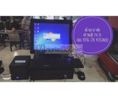 Chuyên cung cấp máy tính tiền cho quán bún đậu mắm tôm tại Phan Thiết