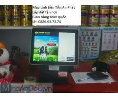 Bán máy tính tiền cho shop sữa tại An Giang giá rẻ