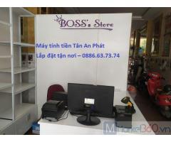 Bán máy tính tiền tại An Giang cho shop phụ kiện thời trang