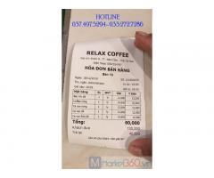Trọn bộ máy tính tiền cảm ứng cho quán Trà sữa- Coffee ở Hà Giang