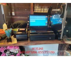 Chuyên phần mềm quản lý- tính tiền cho quán Cà phê- Trà sữa ở Hà Nội