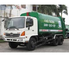 Giới thiệu xe cuốn ép rác chuyên dụng Coneco