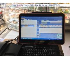 Chuyên máy tính tiền in bill cho tiệm bánh giá rẻ tại Thái Bình
