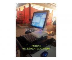Bộ máy tính tiền cảm ứng cho quán Bida- Cà phê tại Cần Thơ