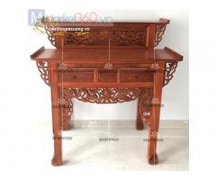 Mẫu bàn thờ gia tiên đẹp với đa kích thước, kiểu dáng