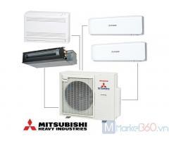 Đơn vị chuyên đi ống cho Máy lạnh Multi Mitsubishi Heavy mẹ bồng con giá cực rẻ