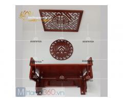 Mẫu bàn thờ treo tường đẹp thiết kế đơn giản hiện đại