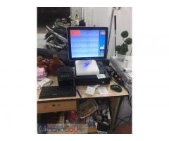 Bộ máy tính tiền cảm ứng giá rẻ cho Quán ăn- Tiệm mỳ ở An Giang