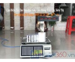 Bán cân điện tử cho siêu thị tại Vĩnh Long giá rẻ
