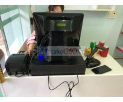 Máy tính tiền giá rẻ cho cửa hàng tiện lợi tại An Giang
