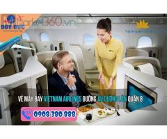 Phòng vé Vietnam Airlines đường Âu Dương Lân quận 8 HCM