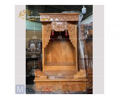 Mẫu bàn thờ ông địa - thần tài với đa dạng kích thước mẫu mã