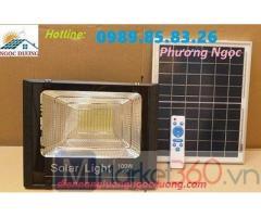 Đèn công suất 100W năng lượng mặt trời, đèn led pha năng lượng mặt trời