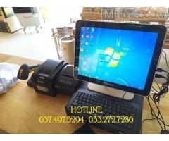 Combo máy tính tiền cảm ứng cho Cửa hàng bánh ở Ninh Bình