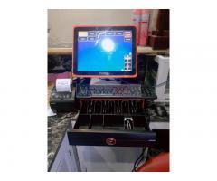 Máy tính tiền cảm ứng cho quán KARAOKE- MASSAGE ở Bến Tre