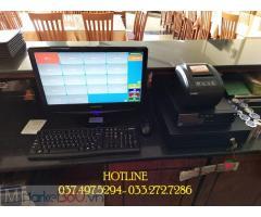 Bộ máy tính tiền trọn bộ giá rẻ cho Khách sạn- Nhà hàng ở Thái Nguyên