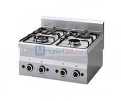 Bếp âu 4 họng dùng gas
