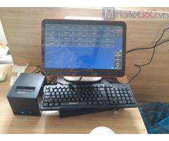 Lắp đặt trọn bộ máy tính tiền tại Long An cho quán cà phê