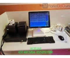 Chuyên lắp đặt tận nơi bộ máy tính tiền cho Quán kem tự chọn tại Bắc Ninh