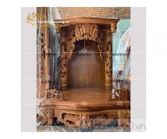 Mẫu bàn thờ ông địa đẹp với đa dạng kích thước mẫu mã hiện đại