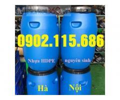 Thùng phuy nhựa 100 lít, thùng phuy nhựa 120 lít, thùng phuy nhựa 100 lít giá rẻ, thùng phuy nhựa 100 lít đựng hóa chất, thùng phuy nhựa 100 lít đựng nước,