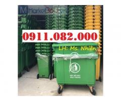 Chuyên bán sỉ thùng rác 120L 240L giá rẻ- thùng rác giá rẻ tại cần thơ-