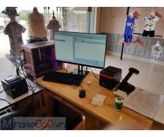 Máy tính tiền bằng mã vạch cho Shop quần áo Mẹ và bé ở An Giang