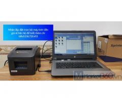 Máy tính tiền giá siêu rẻ cho cửa Hàng Vật Liệu Xây Dựng ở Cà Mau