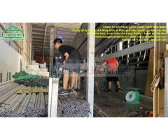 Cung cấp nẹp nhà kính, nẹp cài màng nhà kính, thanh nẹp C và zic zăc nhà kính nông nghiệp