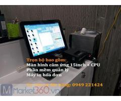 Bán máy tính tiền tại An Giang cho salon tóc giá rẻ