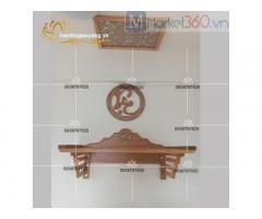 Mẫu bàn thờ treo tường đẹp hiện đại với mức giá siêu tiết kiệm
